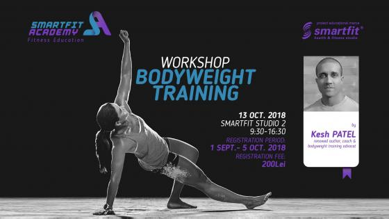 Workshop Bodyweight Training with Kesh PATEL