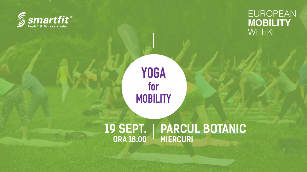 Yoga for Mobility @European Mobility Week