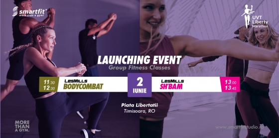 BODYCOMBAT & SH'BAM launch @ Liberty Marathon
