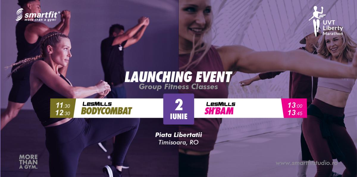 BODYCOMBAT & SH'BAM launch @ Liberty Marathon
