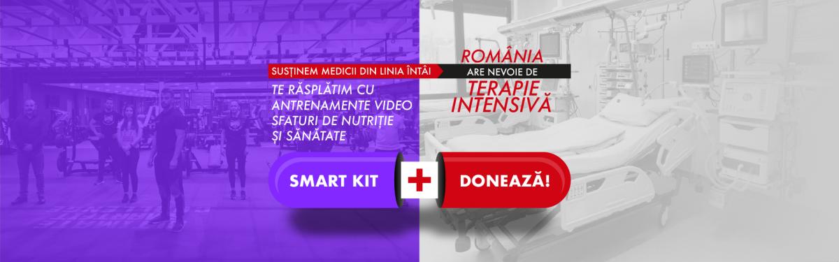 Smartfit susține campania România are nevoie de Terapie Intensivă
