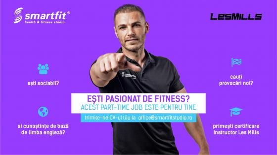 Ești pasionat de fitness? Acest job este pentru tine!